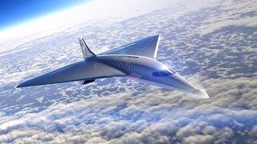 Sesten 3 kat hızlı giden süpersonik jet ortaya çıktı