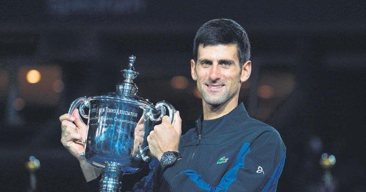 Novak Djokovic gürültüye pabuç bırakmadı