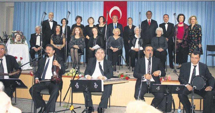 Türk Sanat Müziği Korosu'ndan müzik ziyafeti