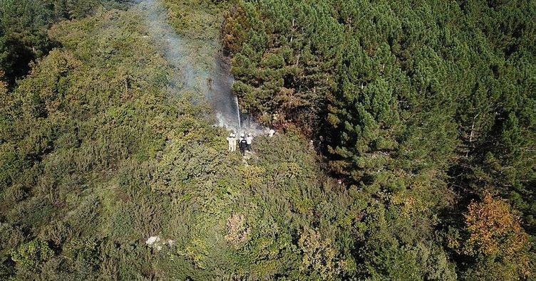 Son dakika: Ümraniye'de orman yangını! Kontrol altına alındı...