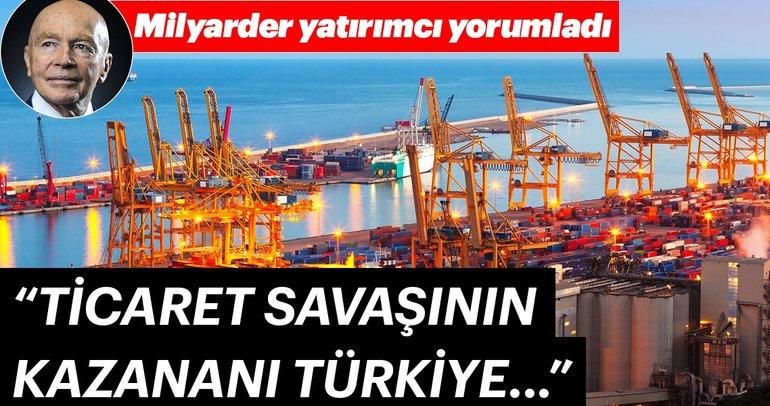 Milyarder yatırımcı Mark Mobius: Türkiye ticaret savaşından kârlı çıkacak