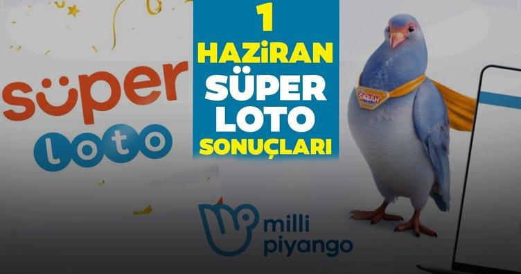 Süper Loto sonuçları son dakika belli oldu! Milli Piyango Online 1 Haziran Süper Loto çekiliş sonuçları - kazandıran numaralarla MPİ bilet sorgulama