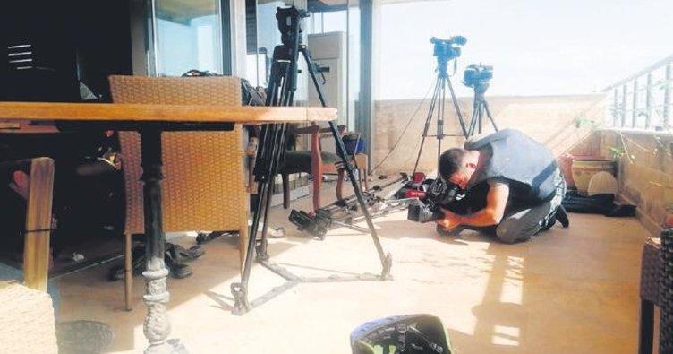 Gazetecilere keskin nişancıyla saldırı: 2 yaralı