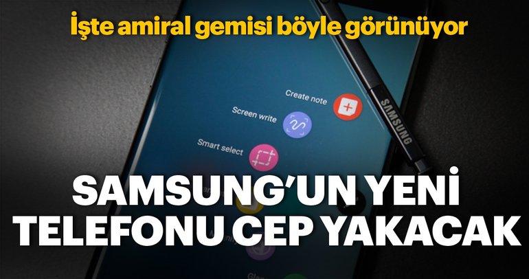 Samsung Galaxy Note 9 işte böyle görünüyor (Note 9'un fiyatı ve özellikleri)
