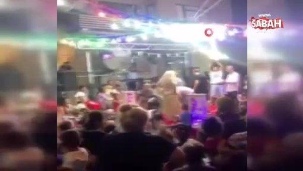 İzmir'de inanılmaz görüntü! Düğünde sadece 1 kişi maske taktı!   Video