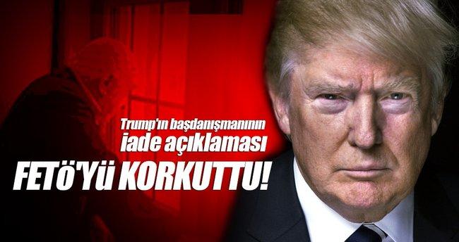 Trump'ın başdanışmanının makalesi FETÖ'nün avukatlarını korkuttu