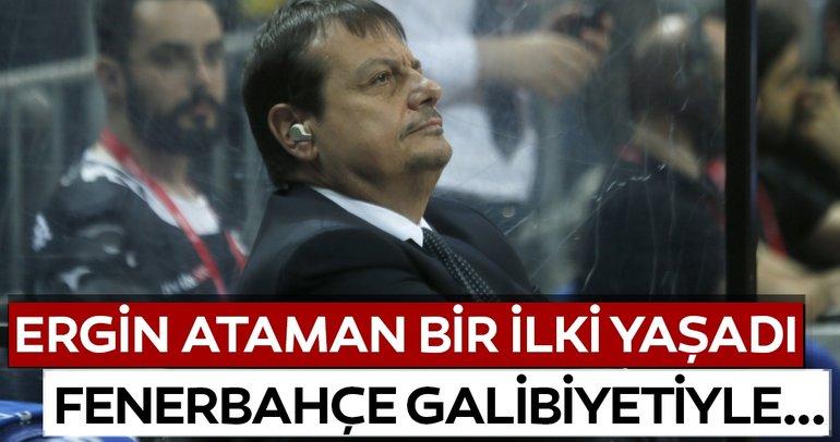 Ergin Ataman, Fenerbahçe Beko galibiyetiyle bir ilki yaşadı
