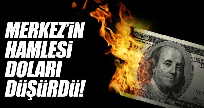 Merkez Bankası'nın hamlesi doları düşürdü!