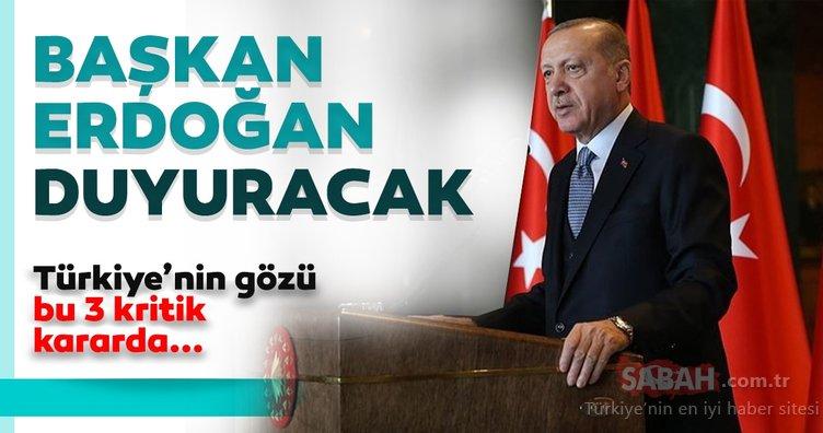 Gözler Başkan Erdoğan'da! Kabine normalleşmeyi ve sınavları konuşacak