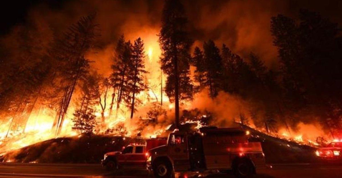 Son dakika: Amanos Dağları eteğinde orman yangını