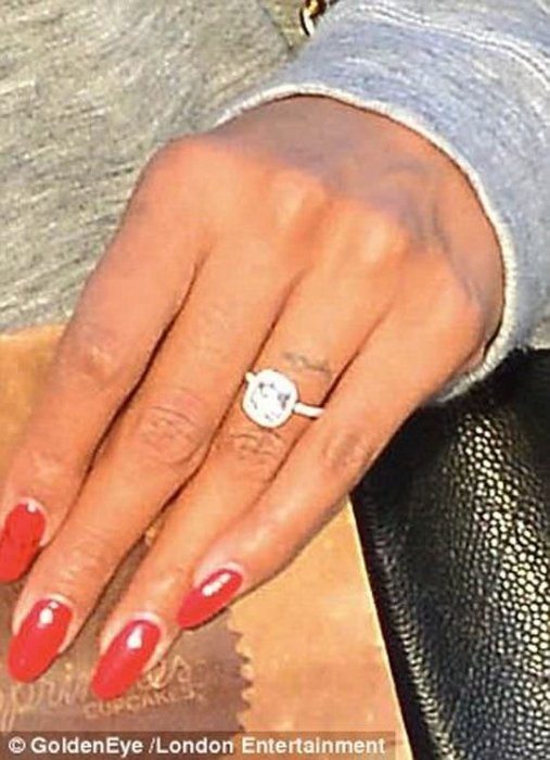 Kelly Rowland nişanlandı