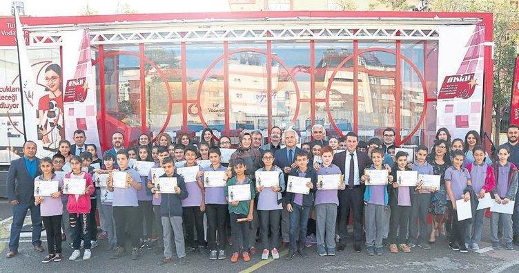 400 öğrenciye kodlama eğitimi
