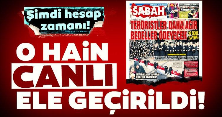 O teröristlerden biri Hakkari'de yakalandı