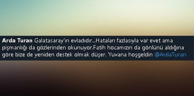 Fatih Terim'e taraftardan Arda Turan tepkisi!