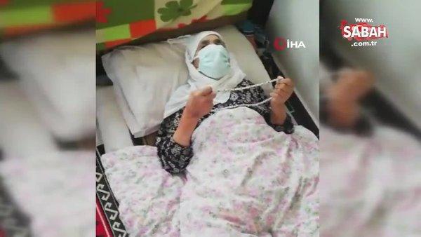 106 yaşındaki nine korona virüsü yendi   Video