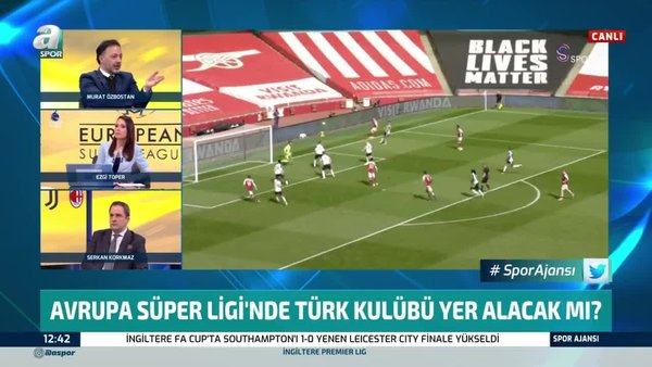 Canlı yayında dikkat çeken yorum! 'Avrupa Süper Ligi'nde 2 Türk takımı olur! Fenerbahçe ve Galatasaray...'