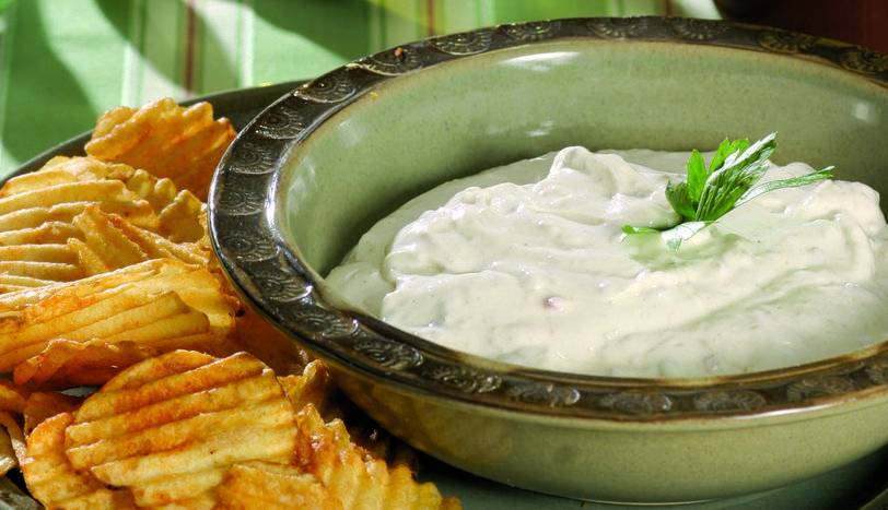 Yeşil Zeytinli & Peynirli Dip Sos