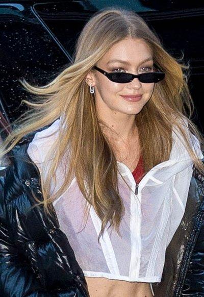 İşte Gigi Hadid'in parlak saçlarının sırrı!