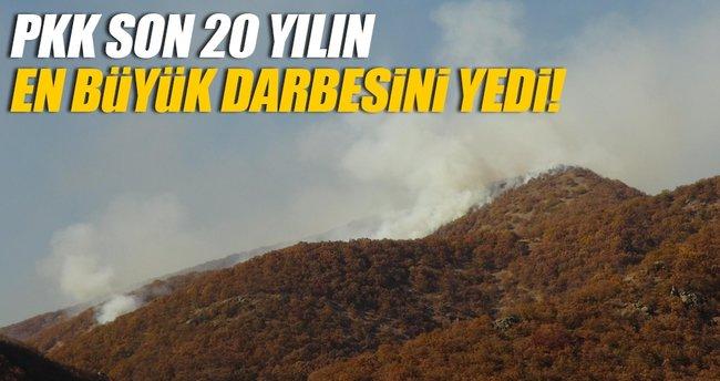 Tunceli'de PKK son 20 yılın en büyük darbesini yedi