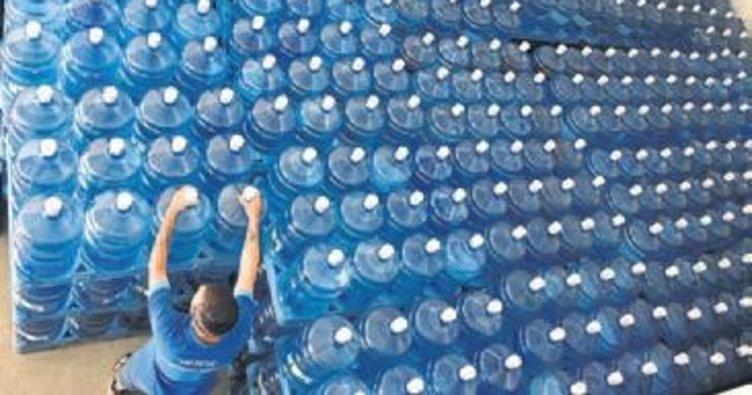 Sıcaklarda su tüketimi arttı