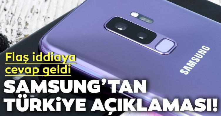 Son dakika Samsung'tan Türkiye açıklaması! Samsung Türkiye flaş iddiaya cevap verdi