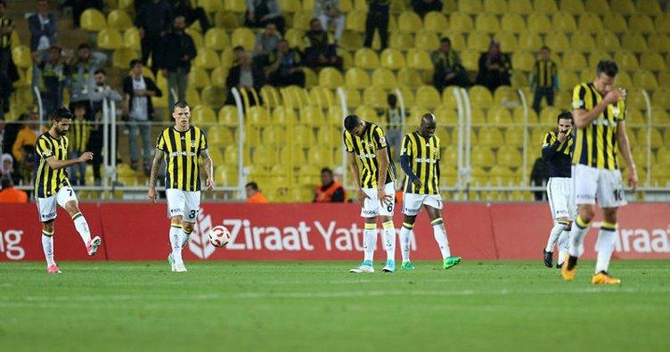 Fenerbahçe'nin futbolda kupa hasreti 3 sezona çıktı