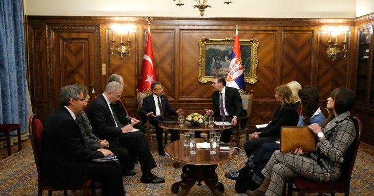 Cumhurbaşkanı Yardımcısı Oktay Romanya'da