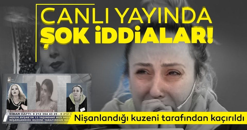 LAST MINUTE: |  Allegations that shocked live broadcast!  15-year-old missing daughter of Hülya Avşar was found in Müge Anlı …