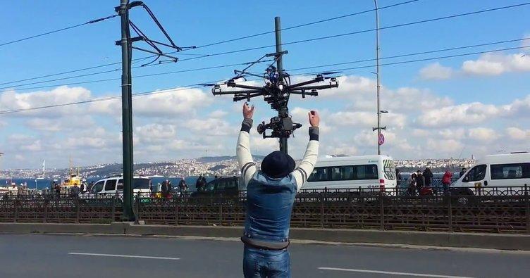 İstanbul'da 50 bin drone uçacak!