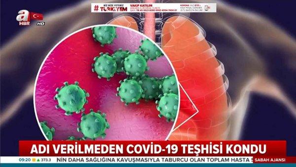 Adı konulmayan bebeğe Covid-19 teşhisi kondu