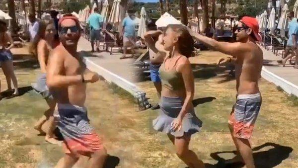 Ceyhun Fersoy ve Begüm Öner'den 'apaçi dansı'   Video