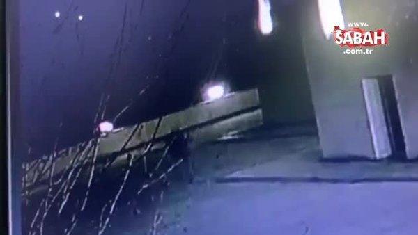 Camilerden muslukları çaldı! Cebinde musluklarla yakalandı!