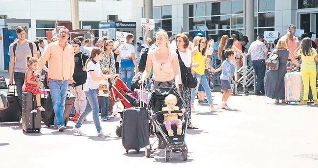 Alman turistler geri kazanılacak