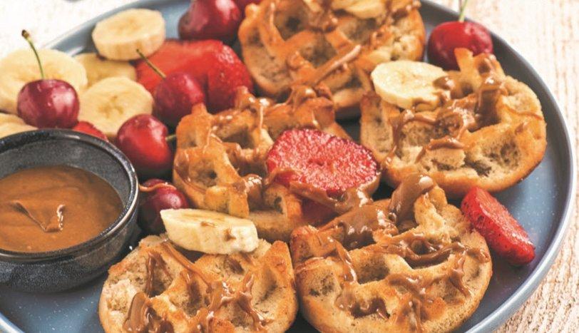 Karabuğday Unlu Waffle