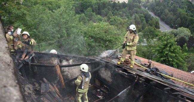 İstanbul'da evlat dehşeti: Babasına kızdı evi yaktı!
