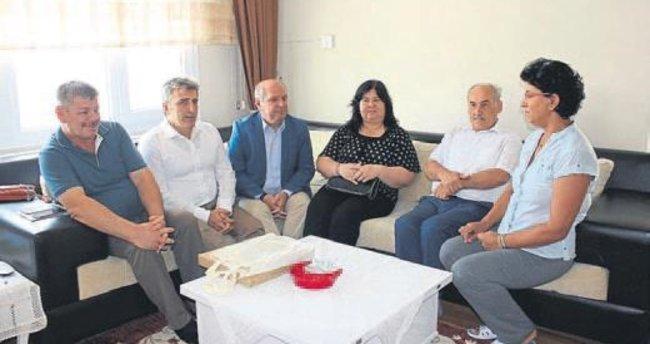 İŞKUR'dan şehit ailelerine bayram ziyareti