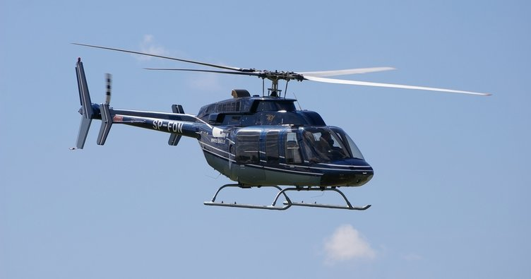 Endonezya'da helikopter düştü!