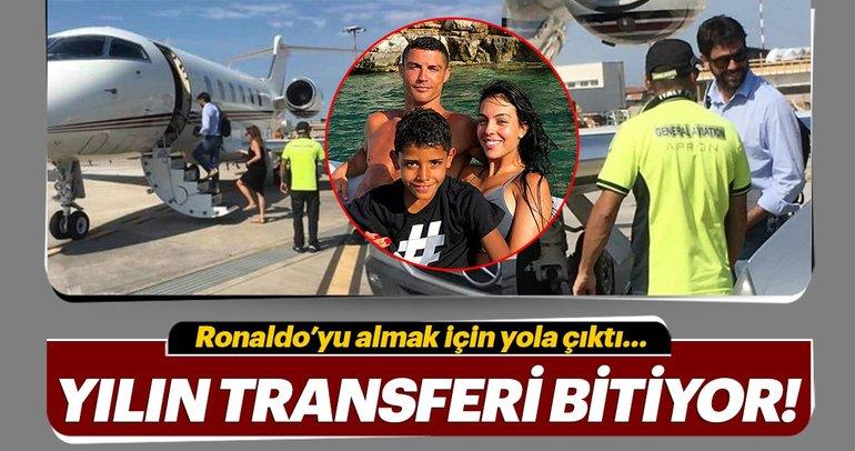Juventus Başkanı Agnelli, Ronaldo transferini bitirmek için Yunanistan'a gitti!