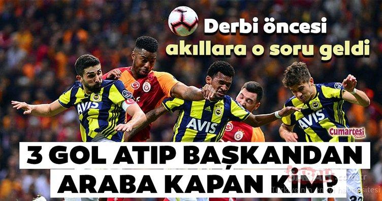 Galatasaray ve Fenerbahçe bu akşam 391. defa karşı karşıya gelecek! Peki 3 gol atıp başkandan Mercedes'i kapan kim?