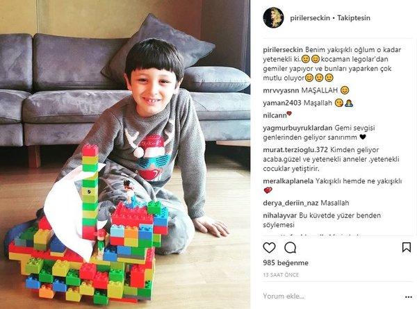 Ünlülerin Instagram paylaşımları (29.03.2018)