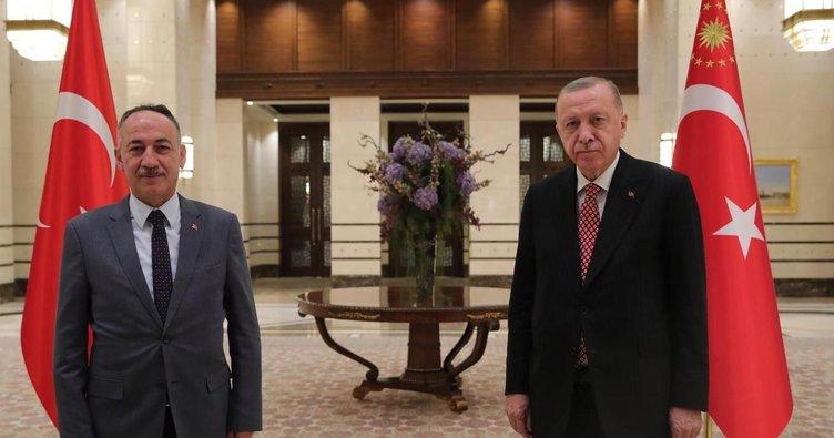 Saygılı, Cumhurbaşkanı Erdoğan ile görüştü