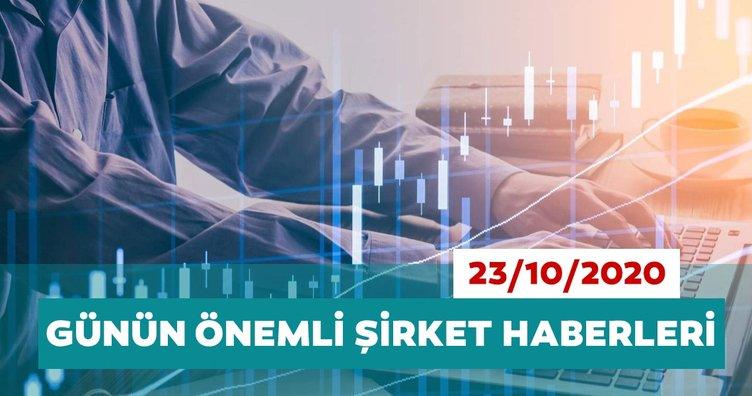 Borsa İstanbul'da günün öne çıkan şirket haberleri ve tavsiyeleri 23/10/2020