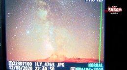 Kayseri'de 'meteor' yağmurunu 2 bin 650 metrede izlediler | Video