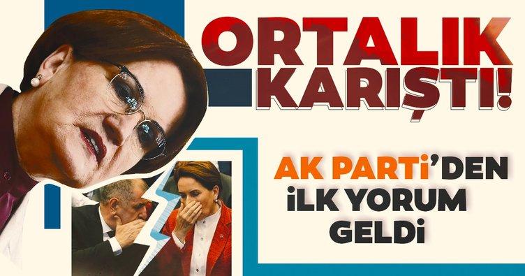 Son dakika: Ümit Özdağ konuştu İYİ Parti karıştı!  Tartışmalara AK Parti'den ilk yorum geldi