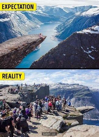 Turistik yerlere bir de böyle bakın