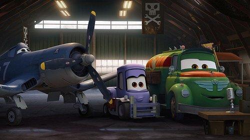 Uçaklar filminden kareler
