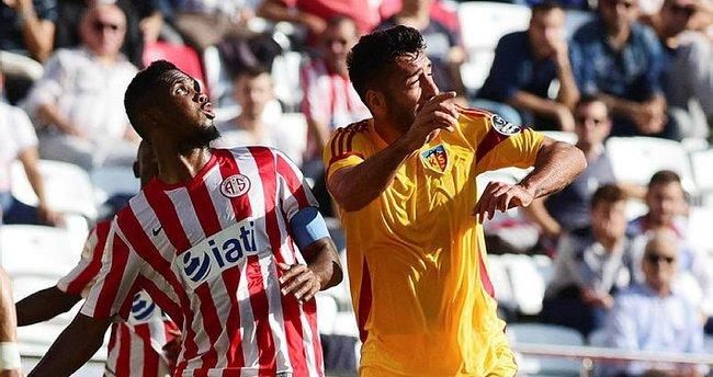 Kayserispor ile Antalyaspor 43. randevuda