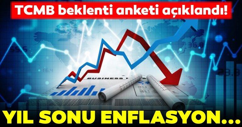 Merkez Bankası beklenti anketi açıklandı! Yıl sonu enflasyon...