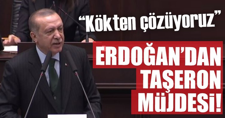 Son dakika: Cumhurbaşkanı Erdoğan'dan flaş taşeron açıklaması!