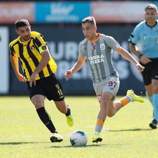 Galatasaray hazırlık maçında İstanbulspor'u 3-2 mağlup etti